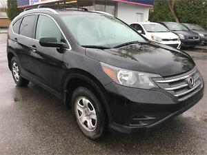 2013 Honda CR-V LX A/C BLUETOOTH CRUISE SEIGES CHAUFF
