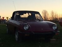 Two Fiat 850 Spider Convertibles for Sale