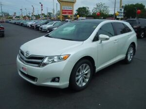 2013 TOYOTA VENZA BASE- POWER SUNROOF, LEATHER HEATED SEATS, REA