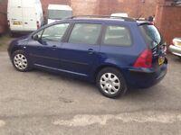 £995 | PEUGEOT 307 HDI ESTATE - VERY GOOD FAMILY CAR