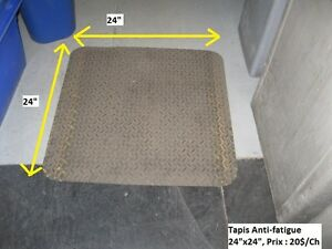 Tapis commercial  anti-fatigue