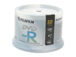 FUJIFILM 4.7GB 16X DVD-R 50 Packs