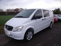 MERCEDES VITO 113 CDI DUALINER White Manual Diesel, 2011