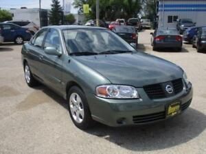 2005 NISSAN SENTRA, LOW MILEAGE, HAS SAFETY&WARRANTY $4,450