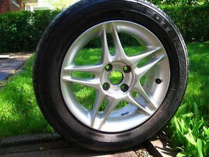 "4x Enkei 5 Split-Spoke ""Jordan Edition"" OEM Honda Mags (4x100mm)"