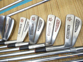 MIXED GOLF CLUBS AND BALLS