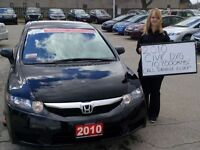 2010 Honda Civic DX-G $56.66 Weekly*