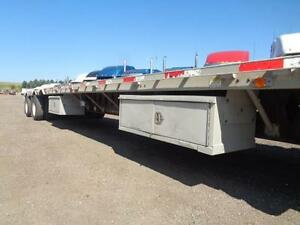 2001 LODE KING 48'FT ALUMINUM COMBO TRAILER, CHANEGABLE SPREAD Kitchener / Waterloo Kitchener Area image 9