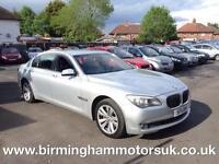 2011 (11 Reg) BMW 730 3.0 730Ld SE AUTOMATIC 4DR Saloon SILVER + HUGE SPEC