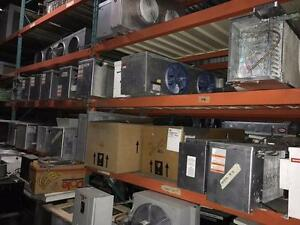 Refrigeration Equipment Commercialm and Industrial and parts, huge variety