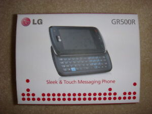 LG - XENON GR500R Cell Phone - REDUCED -