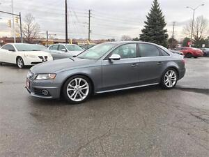 2012 Audi S4 QUATTRO|AWD|NAV|SUNROOF|LEATHER|NO ACCIDENTS