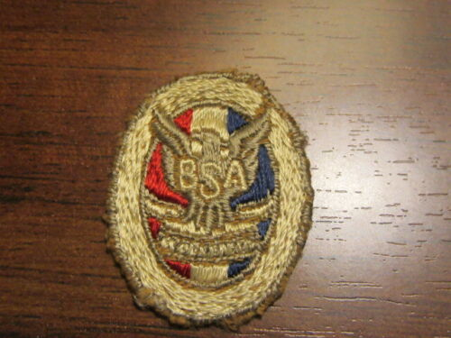 Eagle Scout Early Oval Rank Patch    LK