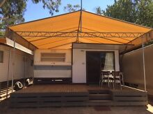 Permanent Onsite Caravan with Annexe at Lake Eppalock Hamlyn Heights Geelong City Preview