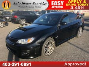 2013 SUBARU IMPREZA STI AWD 6 SPEED MANUAL
