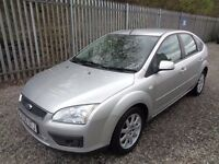 FORD FOCUS 1.6 GHIA PETROL 5 DR AUTOMATIC 85,000 MILES MOT 06/03/18 FULL SERVICE HISTORY ONE OWNER