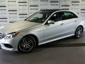 2016 Mercedes-Benz E-Class 4MATIC Sedan