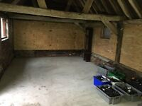 Rural Workshop/Creative space to let - Nr. Horsham, West Sussex