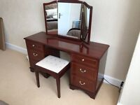STAG Bedroom Furniture Set - Mahogany Finish