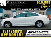 2012 Volkswagen Jetta $79 bi-weekly APPLY NOW DRIVE NOW