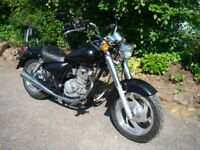 Lexmoto STOCKRIDER 125cc motorcycle - Cruiser style, rare - £900 ono