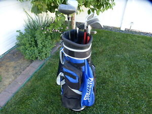 Women's RH Maxfli & Precision Golf Club Set w/Spalding Blue bag