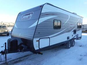 2017 COLEMAN 202 RD COUPLES TRAVEL TRAILER