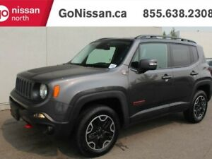 2016 Jeep Renegade TRAILHAWK, 4X4, HEATED SEATS, LOW KMS!