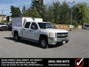 2009 CHEVROLET SILVERADO 2500HD CREW CAB SHORT BOX 4X4
