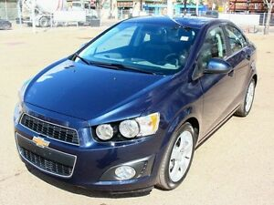 2016 Chevrolet Sonic LT TURBO LOADED FINANCE AVAILABLE