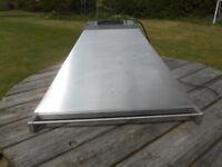 SMEG Cooker Hood & Stainless Steel Splashback 900mm wide