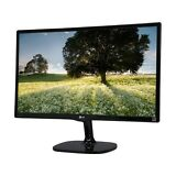 "LG 24MC57HQ-P Glossy Black 23.8"" 5ms Widescreen IPS Multi-Tasking Monitor DFC 5,"