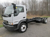 07 FORD LCF DIESEL mint cab and chasis