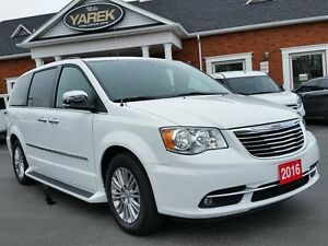 2016 Chrysler Town & Country Touring-L, Leather Heated Seats, NA