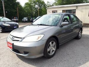 2004 Honda Civic Sdn Si,Certified