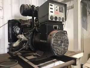 (USED) GENERATOR / DIESEL ENGINE 32KWA