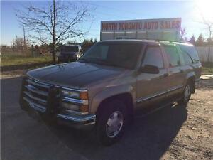 1999 CHEVROLET SUBURBAN LT - LEATHER - 4X4 - VALID E TEST