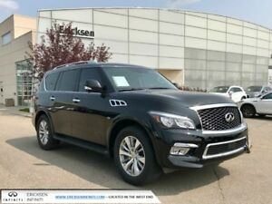 2017 Infiniti QX80 PREMIUM PKG/DVD/NAVIGATION/HEATED AND COOLED