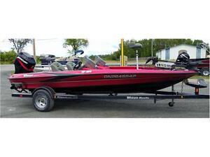 Triton TR186 Bass Boat, Mercury 150 and Trailer