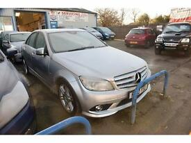 MERCEDES-BENZ C CLASS C200 CDI BlueEFFICIENCY Sport Automatic (silver) 2010