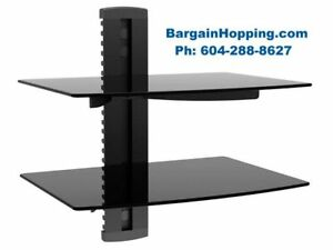 Dual Shelves DVD Wall Brackets