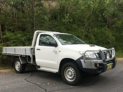 Toyota Hilux SR single Cab 4x4 Diesel manual 2014 (MY14) fitted with Alloy tray Macksville Nambucca Area Preview