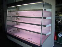 MULTI DECK GRAB AND GO REACH IN DAIRY DISPLAY CASE