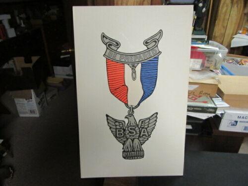 Eagle Scout Rank Poster   14 by 22     NPC4