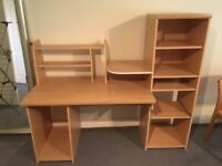 All in one home desk and filing space. Perfect for kids bedroom or for smaller house