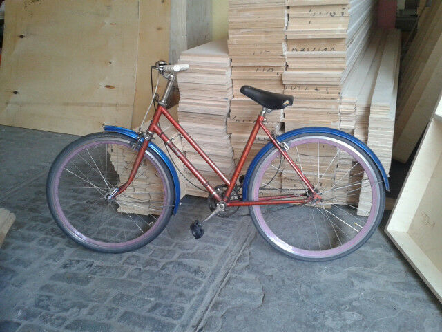 Vintage Raleigh Jeep Bicycle 50s Las Town Bike New Wheels | in ...