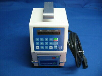 Baxter Sabratek 3030 Infusion Pump Calibrated New Battery Certified Warranty