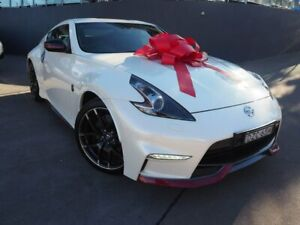 2018 Nissan 370Z Z34 MY18 Nismo White 7 Speed Sports Automatic Coupe Brookvale Manly Area Preview