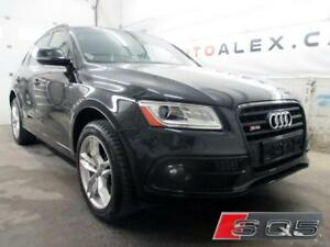2017 Audi SQ5 3.0T Technik CUIR ROUGE NAVIGATION *132$/SEM*