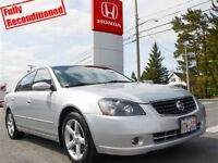 2006 Nissan Altima 3.5 SE V6, A/C, Alloy Wheels